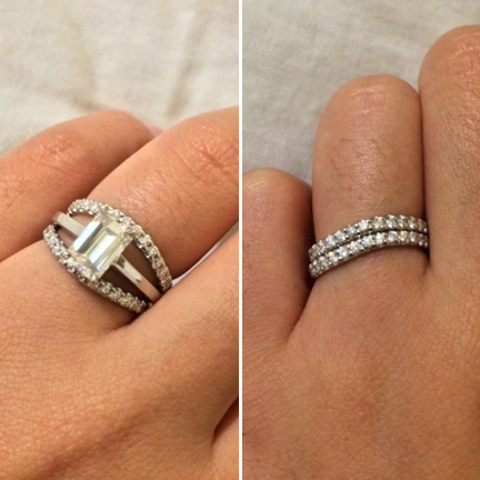 I Love Emerald Cut Diamonds Round Brilliant Ones Are Always Nice But Step And Their Parallel Facets Allow For More Broader Softer Reflection